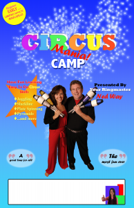 Ned Joan Circus Camp poster
